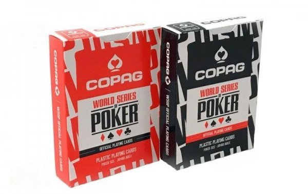 "Карты ""Copag WSOP (Best Seller) red/black"""