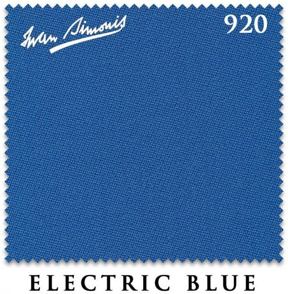 Сукно Iwan Simonis 920 195см Electric Blue