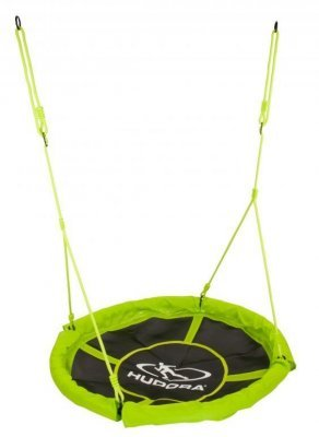Качели-гнездо Hudora Nest swing Alu 110 см, зеленые