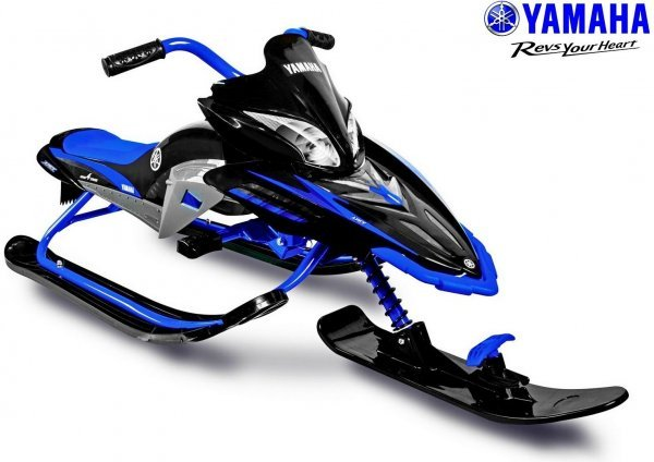 Снегокат YAMAHA Apex SNOW BIKE Titanium YM13001 (2017), черный/синий